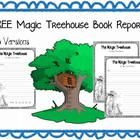 FREE: The Magic Treehouse Book Reports- 3 Versions  I made these for my 6 year old son, who loves the Magic Treehouse Book Series!  I thought I woul...