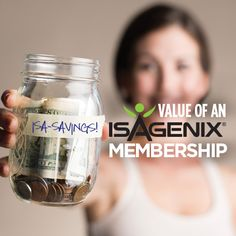 Do you know the value of an Isagenix membership? Here are the six ways you can save!