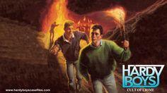 Hardy Boys Casefiles #3 Cult of Crime Wallpaper