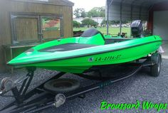 Boat Wraps, Neon Green, Color Change, Boats, Rest, Satin, Beautiful, Ships, Elastic Satin