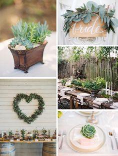 Svatební inspirace: Eco-Friendly - Originální Svatba