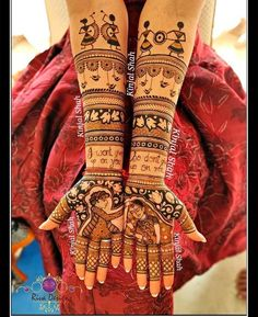 Explore the list of best and trending mehndi designs for every occasion. Latest mehndi designs for your wedding or any other events