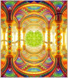 The Art of Salvia Droid Geometry Art, Sacred Geometry, Acid Trip Art, Kaleidoscope Images, Psychadelic Art, Psy Art, Rainbow Art, Visionary Art, Sacred Art