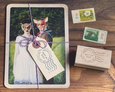 Custom Vintage Postm