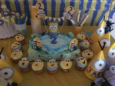 My sister in laws minion Bday everything DIY