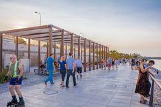 Vistula Boulevards by RS Architektura Krajobrazu « Landscape Architecture Works | Landezine