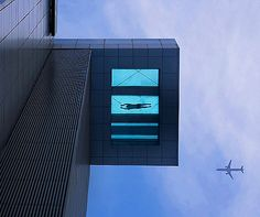 The world's scariest hotel swimming pool?