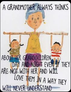 About a grandmother and her grandchildren