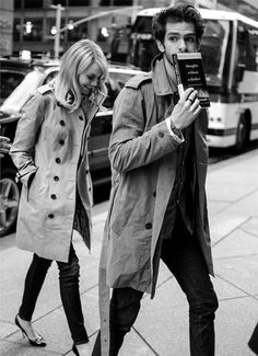 {style inspiration | the classic trench : for him  her} | Flickr - Photo Sharing!