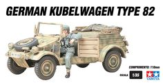German Kuebelwagen Type 82