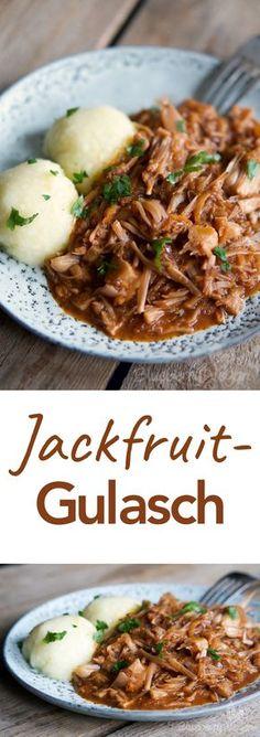 Deftig Gulasch Jackfruit Vegan