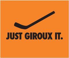 This is great!! Claude Giroux ❤ Philadelphia Flyers!!!