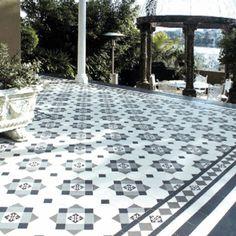 Victorian floor tiles | geometric floor tiles | Little Tile Company | UK