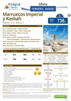 Marruecos Imperial y Kasbah Febrero Marzo**Precio final desde 738** ultimo minuto - http://zocotours.com/marruecos-imperial-y-kasbah-febrero-marzoprecio-final-desde-738-ultimo-minuto-2/