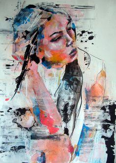 "thomas donaldson; Paint 2013 Drawing ""10-4-13 Sara"""