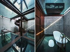 Love! Like! Share! Vertical Glass House by Atelier FCJZ