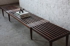 George Nelson expandable slat bench - Google Search