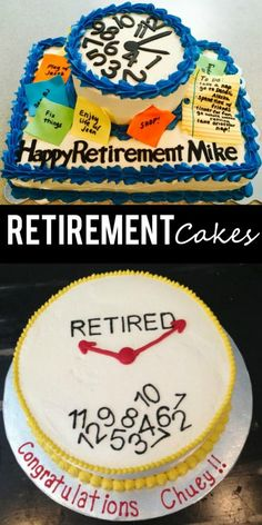 It's time for retirement! Take a look at these funny Retirement Party Ideas and cakes on Frugal Coupon Living.