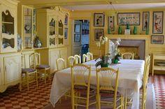 La Maison De Monet, Giverny | La Salle à Manger