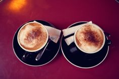 cappuccino for two...