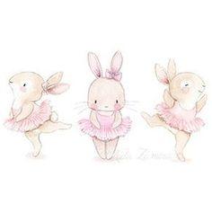 Nursery illustration bunny ballerina illustration obtain Bunny Nursery, Animal Nursery, Nursery Art, Nursery Prints, Ballerina Illustration, Cute Illustration, Website Illustration, Lapin Art, Illustration Mignonne