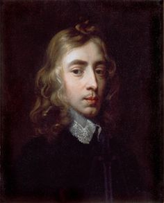 John Milton (1608-1674) Portrait attributed to Sir Peter Lely. From the collection of Christ's College.
