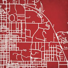 Indiana University   City Prints Map Art..Great site for maps. Already purchased a couple for our apartment