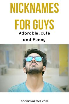 In search of what nicknames to call your guy friends or you need guys name ideas. Everything is here #friends #guys #nicknames Guy Best Friend, Guy Friends, Best Friends, Cute Nicknames For Guys, Cute Guys, Cute Names, Boyfriend, Search, Boys