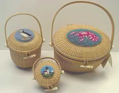 needlepoint nantucket baskets!