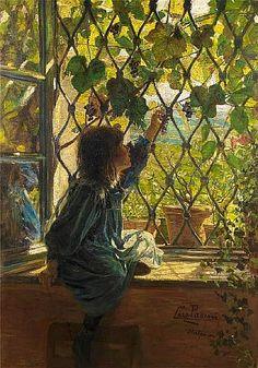 Lazzaro Pasini (Italian, 1861-1949) Picking grapes Lazzaro Pasini (Reggio Emilia, 1861 – Milan, 1949) was an Italian painter, mainly depicting landscape works, but also some genre works