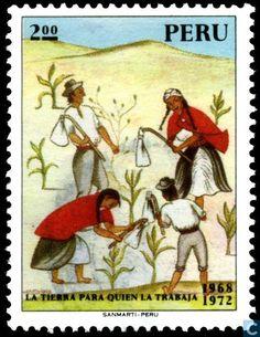 Postage Stamps - Peru - Landesbestellung