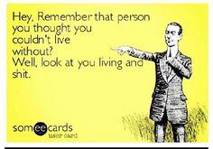 Funny saying Haha!
