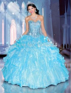 Shop for Disney Royal Ball Quinceanera Dresses and Gowns online. Look like your favorite Disney Princess during your Sweet 15 party. Sweet 15 Dresses, Pretty Dresses, Ball Gown Dresses, Prom Dresses, Organza Dress, Dress Prom, Bridesmaid Dress, Wedding Dresses, Robes Quinceanera