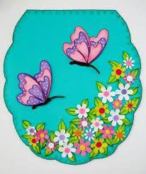 Resultado de imagen para juegos de baño de foamy Hobbies And Crafts, Diy And Crafts, Crafts For Kids, Sewing Crafts, Sewing Projects, Projects To Try, Butterfly Crafts, Patch Quilt, Bargello