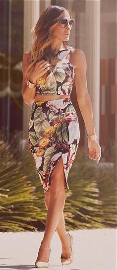 Sarah Jessica Parker - Tropical Paradise
