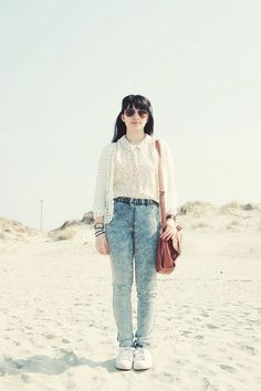 #summer #beach #outfit #vintage #whimsical #sunglasses