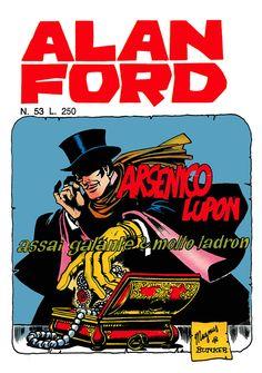Alan Ford53 - novembre 1973 - Arsenico lupon assai galante e molto ladron  - Soggetto e SceneggiaturaMax Bunker - matiteMagnus - chinePaolo Chiarini - Copertina Magnus