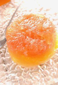 Recette de Terrine de mangue et pamplemousse