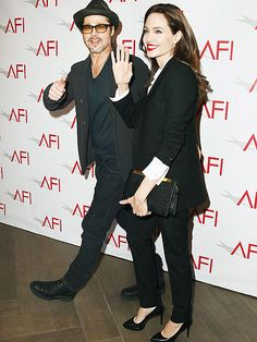 Star Tracks: Saturday, January 10, 2015 | COUPLED UP | Meet and chic! Brad Pitt and Angelina Jolie attend the 15th annual AFI Awards luncheon at the Four Seasons Hotel in Beverly Hills on Friday.
