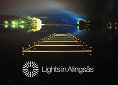 Lights in Alingsås, Sweden https://www.facebook.com/lightsinalingsas   #website #festival #alingsas
