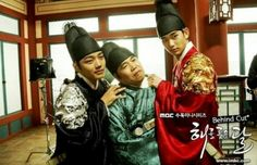 Moon Embracing The sun. The historical-fantasy drama is adapted from the novel of the same name written byJung Eun-gwol. It tells of a secret, poignant love story between a fictional king of theJoseon Dynastyand a female shaman against the backdrop of a Korean traditional palace; and the conflicts and conspiracy of vying political powers.