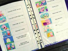 Tak TROCHU ... jiný svět: Pepa a Tom, jednoduchý text ke čtení Bullet Journal