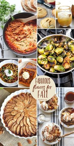 Fabulous Flavors for Fall. From pumpkin and apple to brussels sprouts and more…