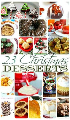 23 Christmas Dessert Ideas. Christmas Tree Brownie Pops, White Chocolate Peppermint Cupcakes, Peppermint Fudge, chocolate cake, and so much more. The Flying Couponer. Family. Travel. Saving Money.