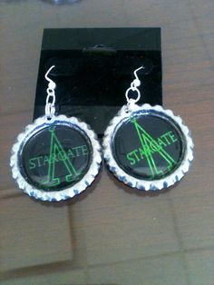 Stargate SG1 With Earth Symbol Inspired by GeektasticCreations, $8.00