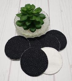 Looking for ways to take small steps into a zero waste, green, eco-friendly lifestyle? These beautiful makeup remover pads in Black and White Zebra Fronds print are the perfect way to get started going green and saving money for your wallet. They work equally well as makeup remover pad, facial Terry Makeup, Makeup Remover Pads, White Zebra, Cotton Pads, Bridal Shower Favors, Zero Waste, Graduation Gifts, French Terry, Stocking Stuffers