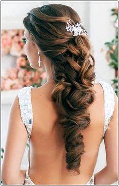 loose curls wedding hairstyles |