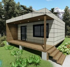 2 Unites Modular Prefabricated Wooden Cladding Holiday Container House Loddge picture from Jiangxi HK Prefab Building Co. view photo of Container Loddge, Prefab House, Prefabricated House.Contact China Suppliers for More Products and Price. Building A Container Home, Container Buildings, Container House Plans, Container House Design, Cargo Container, Prefab Buildings, Prefabricated Houses, Prefab Homes, Modular Homes