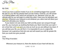 A letter from god to his princess love this so much i almost his princess love letters to my daughter spiritdancerdesigns Images