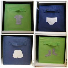 "Stenciled ""fabric"" bins using Silhouette Cameo created freezer paper stencils. Stencil Fabric, Stencil Diy, Fabric Painting, Stencils, Diy Painting, Storage Bins, Diy Storage, Diy Organization, Organizing"